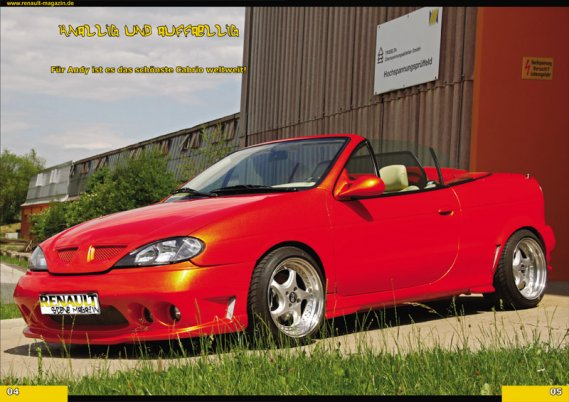 2214  569x569 megane cabrio Renault Magazine 02/2012tuning photo megane coupe megane cabrio flip flop orange cameleon color tuning megane