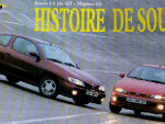 thumbs tytol Renault Megane Coupe 2.0 vs Fiat Bravo 1.8 16vskan gazety megane road test megane coupe vs fiat bravo porównanie megane coupe i fiat