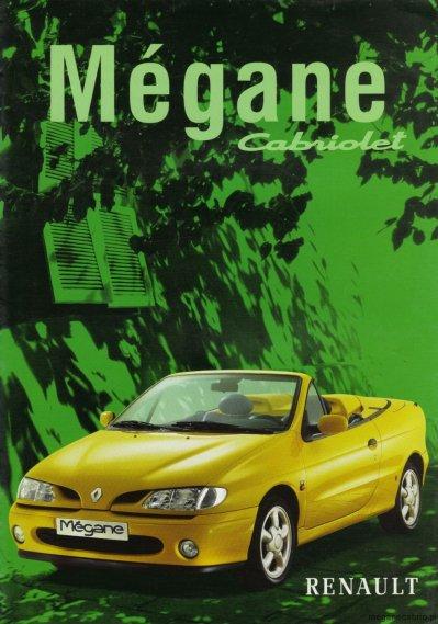 1540  569x569 1strona Prospekt Megane Cabrio 1997 1998wszystko na temat megane cabrio i prospekt megane cabrio ph1 megane cabrio 1 jakie silniki w megane cabrio 1997 jakie kolory w cabrio 6 dane techniczne