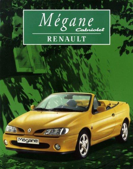 1632  569x569 renault megane cabrio 1997 01 Prospekt Megane Cabrio Ioryginalny prospek renault megane cabrio megane cabrio z salonu lista wyposażenia megane cabrio jakie wersje megane cabrio w 1997 roku jakie akcesoria do megane cabrio dane techniczne megane cabrio i ph1 dane techniczne megane 2.0 16v w cabrio
