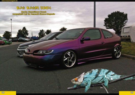 2213  569x569 8 Renault Magazine 02/2012tuning photo megane coupe megane cabrio flip flop orange cameleon color tuning megane