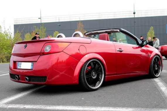 2360  570xfloat= img 1094 2 Czerwone Megane CCtuning megane coupe cabrio red tuning megane cc