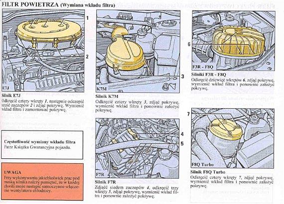2366  570xfloat= filtr powietrza Wymiana filtru powietrza Renault Meganewymiana filtra w silniku k7m wymiana filtra w silniku f7r wymiana filtra w silniku f3r wymiana filtra w silniku e7j jaki filtr powietrza w renault megane jak wymienić filtr powietrza w megane