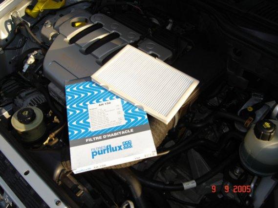 Inteligentny jak wymienić filtr kabinowy | Renault Megane Cabrio Fans UX08