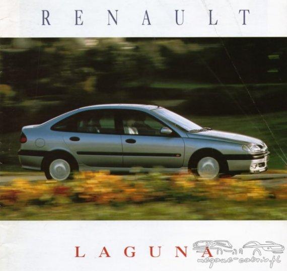 2791  570xfloat= laguna Prospekt Renault Laguna 1995prospekt laguna folder reklamowy laguna