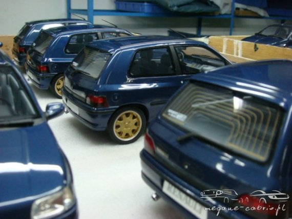 2924  570xfloat= ot001q10 Model Clio Williamszabawka clio model williams mini model clio