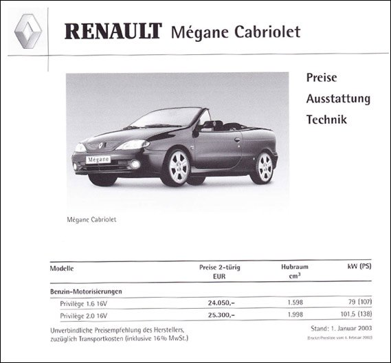 420  569x569 katalog megane 2003 Instrukcja do Megane Cabrio Ph.2prospek pdf obsluga megan manula megane cabrio ph2 1999 manula megane cabrio pdf książka megane cabrio instrukcja obsÅ'ugi megane cabrio 2002 2001 2000