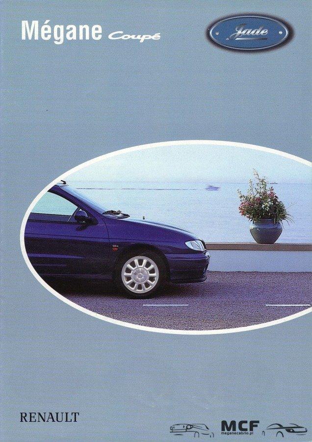 meganecabriopl1 Limitowana Seria Megane Coupe   Jadeżadkie modele megane coupe megane coupe serie specjalne limitowana seria jade megane coupe