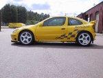 thumbs renault maxi megane yellow Renautl Megane wersje wyscigowo rajdowemegane wrc megane trophy megane maxi megane cabrio maxi