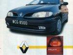 thumbs 1 Renault Megane prospekt 1996r polskiwyposażenie test wersji 1 renault w polsce monografia renault megane gama modeli dzieje konstrukcji ceny bezpieczeństwo 6 rt