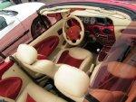 thumbs 1280 6161386436376237 Tuning wnętrza Megane vol.1tuning zegarów megane tuning wnętrza megane cabrio photo interior modyfikacje kokpitu modyfikacja wnętrza megane kolor kokpitu dodatkowe zegary megane cabrio