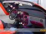 thumbs 8 Tuning wnętrza Megane vol.1tuning zegarów megane tuning wnętrza megane cabrio photo interior modyfikacje kokpitu modyfikacja wnętrza megane kolor kokpitu dodatkowe zegary megane cabrio