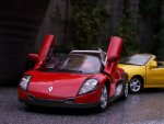 thumbs rhv22d Miniatury modele Renault Megane Cabrio oraz Renault Spiderresorowki megane resoraki megane modele w malej skali miniaturki megane cabrio male modele megane